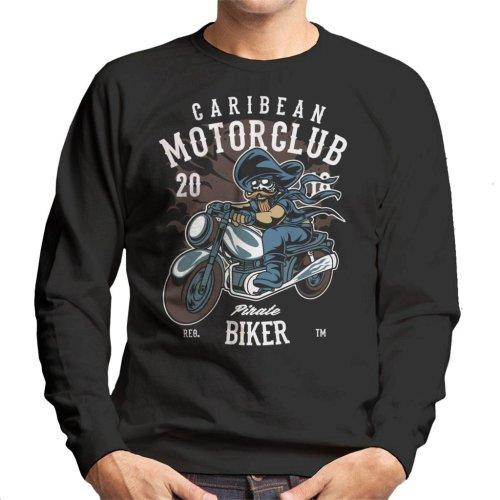 Carribean Motor Club Pirate Men's Sweatshirt