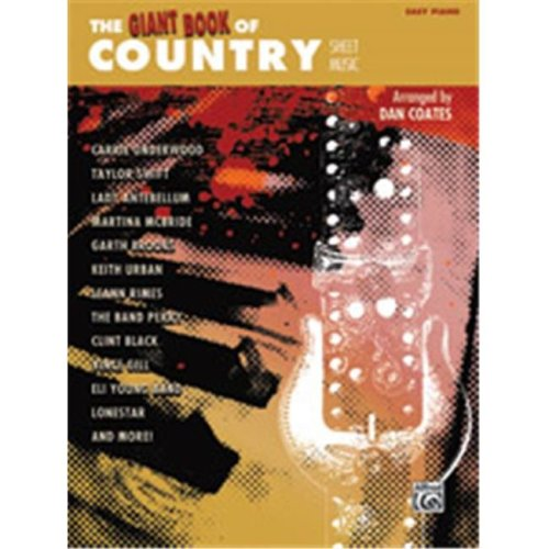 Alfred 00-42370 GIANT BOOK OF COUNTRY SHEET- EP
