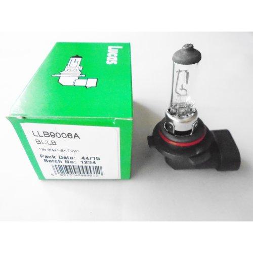 Lucas LLB9006A HB4 P22D Car Headlamp HeadLight FogLight  Light Bulb Lamp 12V 80W