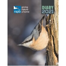 RSPB Inspiring Nature Deluxe A5 Diary 2021