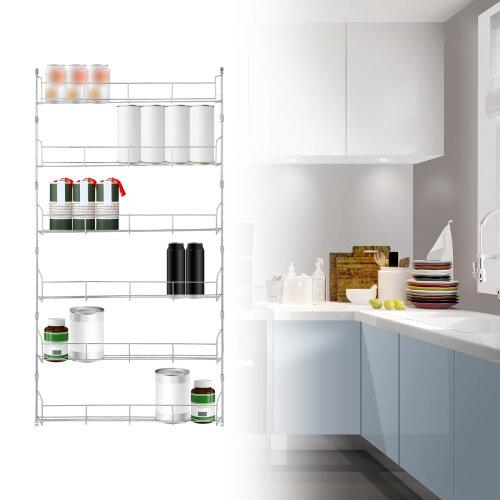 Spice Herb Jar Rack Holder 6 Tier For Kitchen Door Cupboard Spice Rack