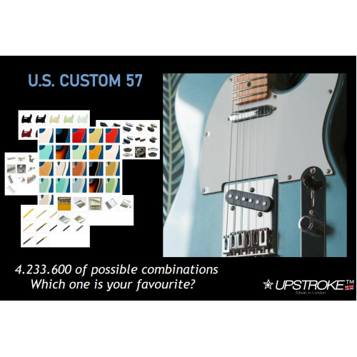 US CUSTOM 57 - Hand-FInished guitar - Available within 5 weeks