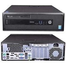 Windows 10 HP 800 G1 SFF Intel Core i5-4570 Desktop PC Computer - 16GB DDR3-480GB SSD - Refurbished