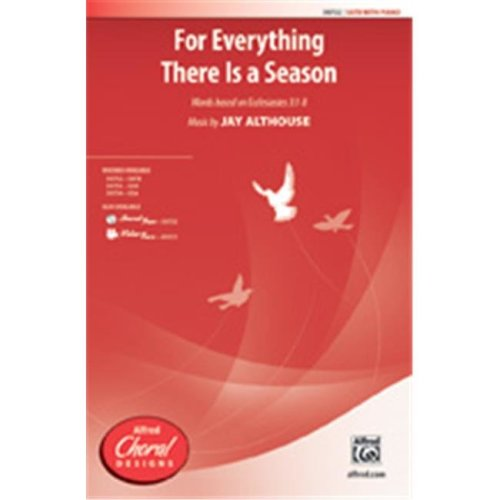 Alfred 00-40022 FOR EVERYTHING THERE IS SEASON-VTRX