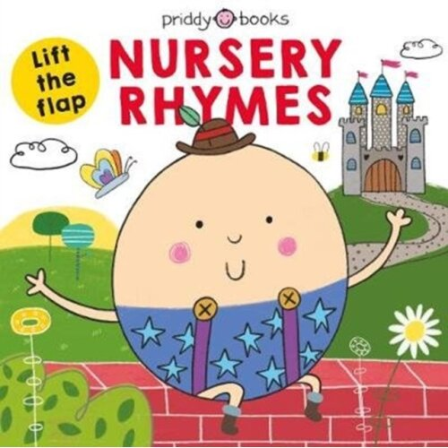 Lift The Flap Nursery Rhymes by Priddy & Roger