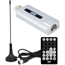Watch HD TV on your PC August DVB-T210 HD TV Tuner + Recorder For PC
