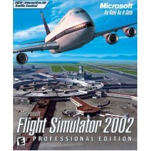 Microsoft Flight Sim 2002 - Professional Edition (PC) - Used