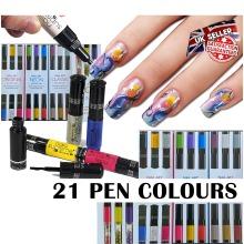 Nail Art Pens Set Varnish Polish Decorate Design Nails Supreme