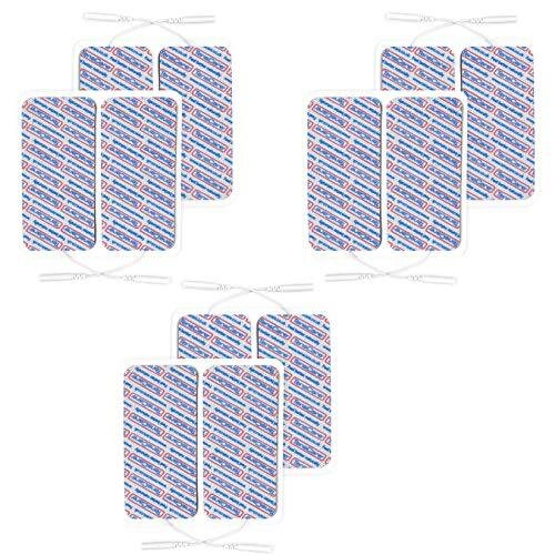 TensCare - Superior Large Electrode pads (3 packs of 4 pads) 50 x 100 mm