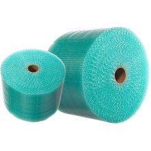 500mm x 100m Green Recyclable Small Strong Packing Picking Protective Bubble Wrap Roll