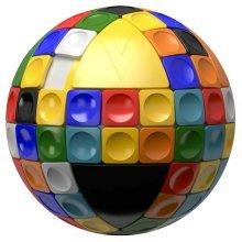 V-Cube V-Sphere Spherical Rotational Puzzle 560021