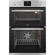Zanussi ZOD35802XK Electric Double Oven, Stainless Steel - Used