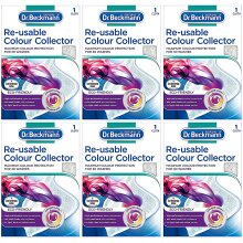 6 x Dr Beckmann Re-usable Colour & Dirt Collector Cloth Eco-Friendly