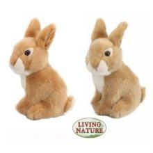 Living Nature Baby Rabbit Sitting
