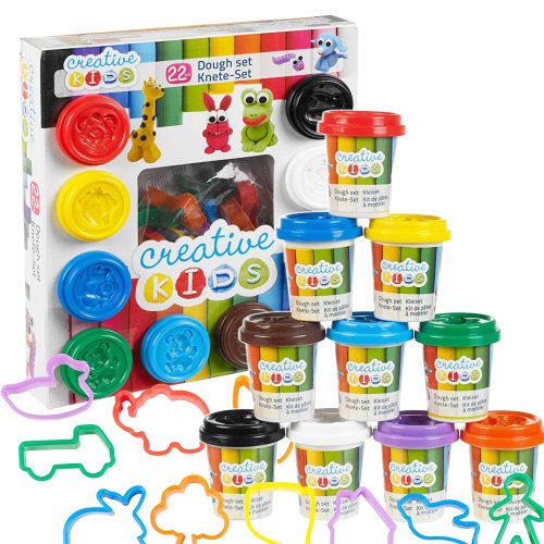 The Magic Toy Shop 22 Pieces Play Dough Set & Accessories