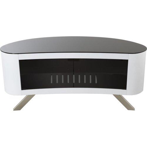 AVF Bay 1150 TV Stand - White, White