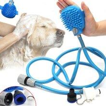 Pet Dog Cat Bathing Cleaner Shower Tool Kit Cool Wash Pet Massage Bathing Brush