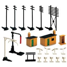 HORNBY R574 Trackside Accessories Pack Kit