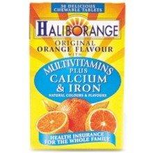 Haliborange Multivitamins Plus Calcium & Iron Tabs 30