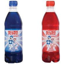 Slush Puppie Blue Raspberry and Cherry Syrup, 500 ml
