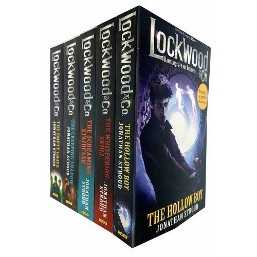 Jonathan Stroud Lockwood & Co Series Collection 5 Books Set