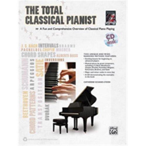 Alfred 00-35016 TOTAL CLASSICAL PIANIST-BK&CD