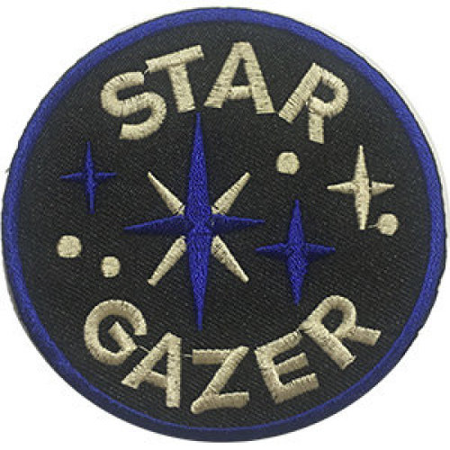 Patch - Space - Star Gazer Icon-On p-dsx-4788