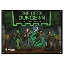 Asmadi Games ASN0081 One Deck Dungeon - Forest of Shadows Non Collectible Card Games