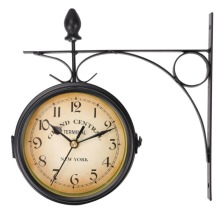 Outdoor Grand Central Terminal Double-Sided Wall Clock