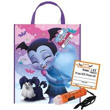 Vampirina Trick or Treat Halloween Bag Safety Flashlight and Sticker Bundle