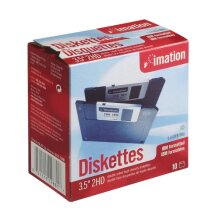 Imation 3 5 Inch DS HD IBM PC Formatted Discontinued by Manufacturer