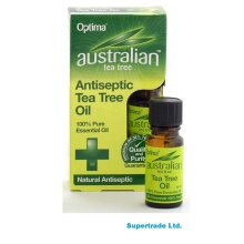 Australian Tea Tree 100% Pure Essential Antiseptic Tea Tree Oil - 10ml X 2