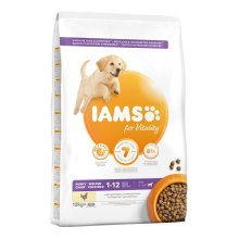IAMS for Vitality Puppy & Junior Large Dog - Chicken 12 Kg