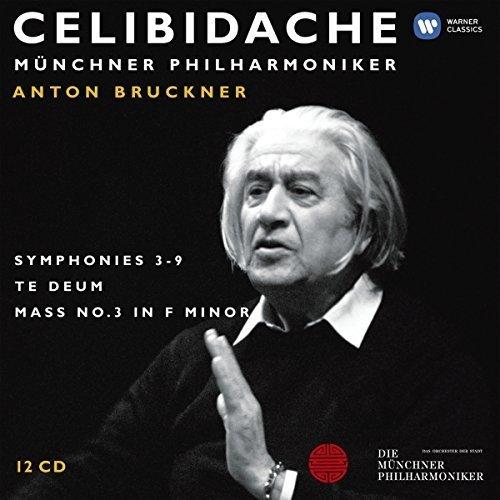 Sergiu Celibidache - Bruckner: Symphonies 3 - 8 Te [CD]