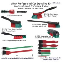 Vikan Car Detailing Brush Set Superb Professional Brushes Wheels Body Interior