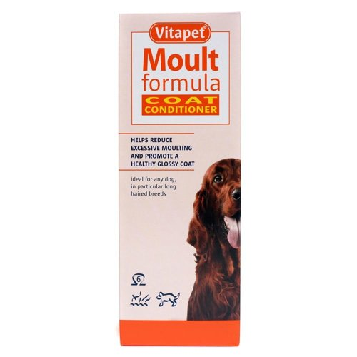 Vitapet Moult Formula Cat & Dog Coat Conditioner