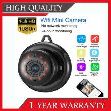 1080P Mini WIFI IP Camera Wireless In/outdoor CCTV Smart Home Security