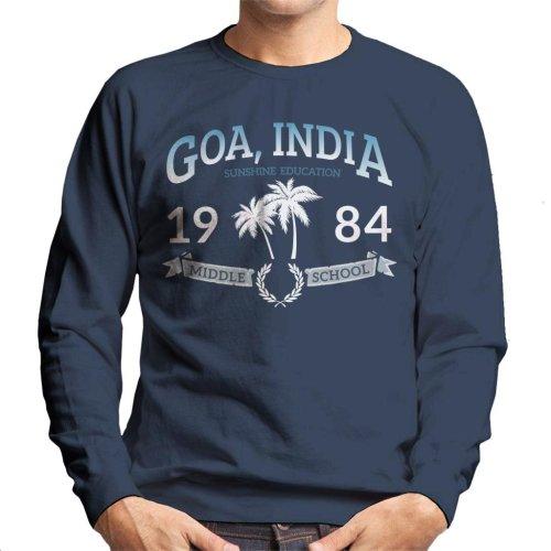 Goa India Middle School Men's Sweatshirt