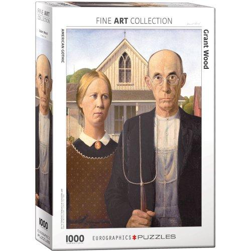 EG60005479 - Eurographics Puzzle 1000 Pc - American Gothic