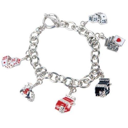 290-CBTOG Bret Roberts Metal Link Gaming Charm Bracelet