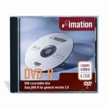 Imation 16x DVD-R 4.7GB 1 Pack Standard Jewel