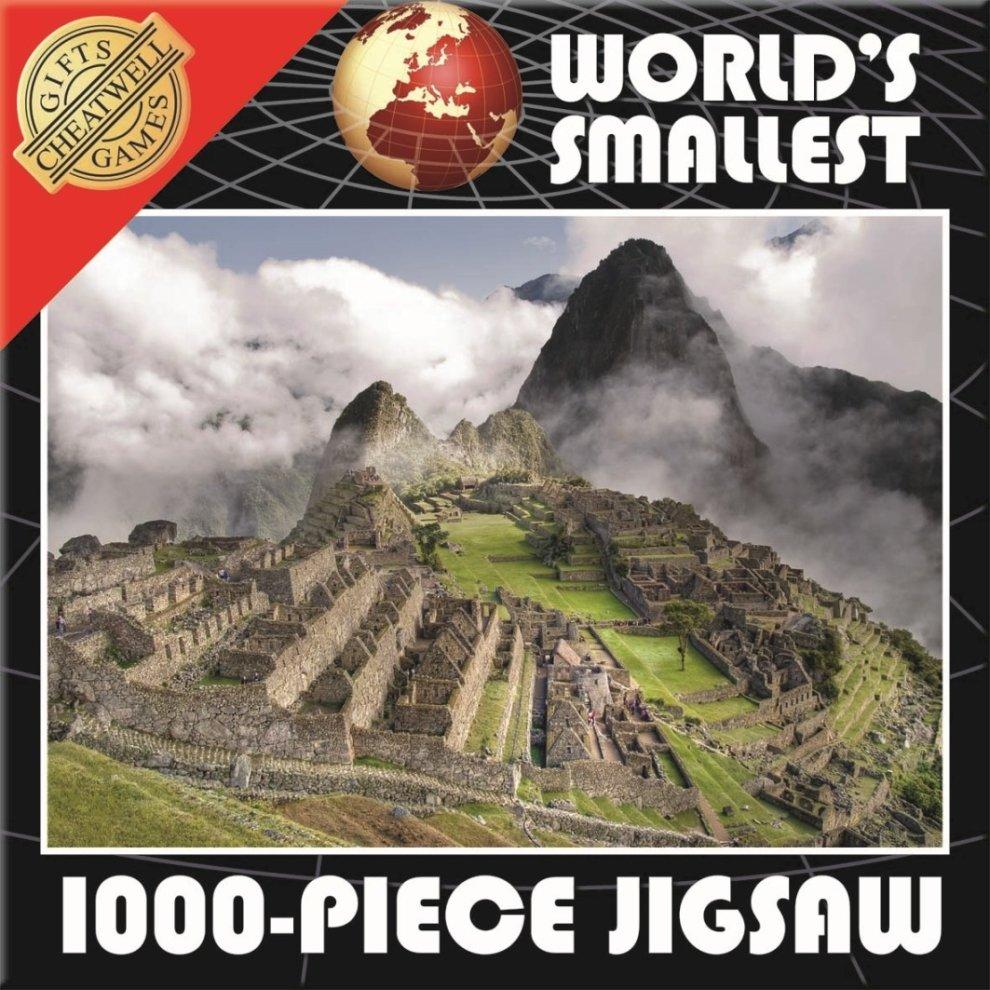 Smallest 1000 Piece Jigsaw Puzzle