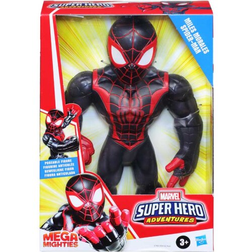 Marvel Super Hero Adventures Mega Mighties - Miles Morales Spider-Man
