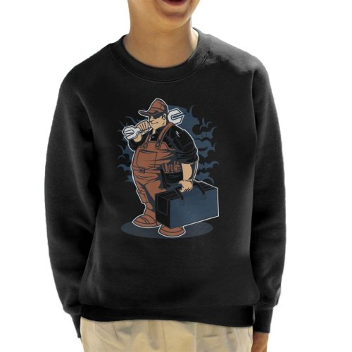 Fat Mechanic Kid's Sweatshirt