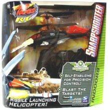 Air Hogs R/C Sharpshooter Helicopter - Red