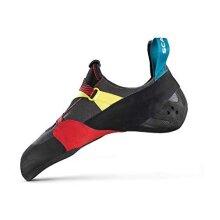 Scarpa Men's ARPIA Climbing Shoes, Black-RED FK, 4 UK