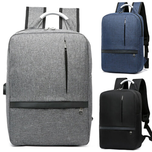 Men's Oxford Cloth Backpack With USB Charging Port
