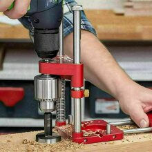 DRILL LOCATOR ALLOY STEEL WOODWORKING DRILLING GUIDE TOOL COZY