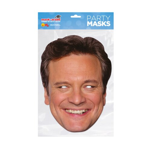 Colin Firth fancy dress face mask
