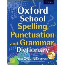 Oxford School Spelling, Punctuation, and Grammar Dictionary - Used